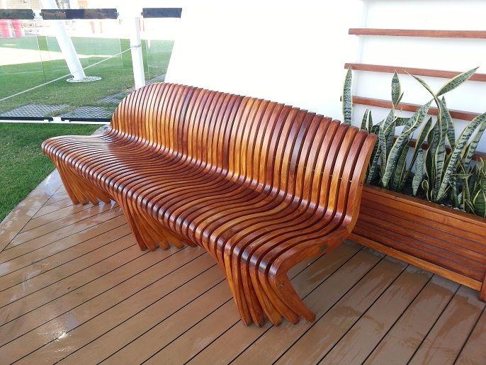 Las 25 mejores ideas sobre asientos elevados en pinterest for Muebles para jardin en madera