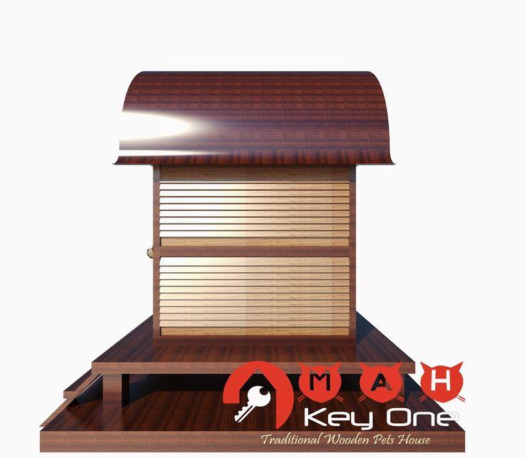 Rumah Anjing dari Kayu Jati (Wooden Dog House) Model Rumah Adat Sasak | OMAH KAYU INDONESIA
