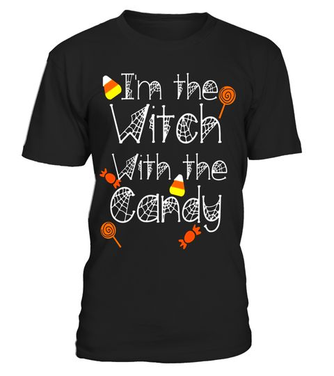 """# Funny Halloween Witch T-Shirt I'm the Witch With the Candy .  Special Offer, not available in shops      Comes in a variety of styles and colours      Buy yours now before it is too late!      Secured payment via Visa / Mastercard / Amex / PayPal      How to place an order            Choose the model from the drop-down menu      Click on """"Buy it now""""      Choose the size and the quantity      Add your delivery address and bank details      And that's it!      Tags: Funny Halloween witch…"""