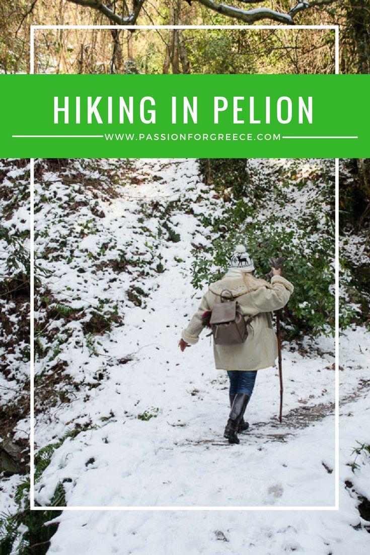 Outdoor activities and hiking in Pelion