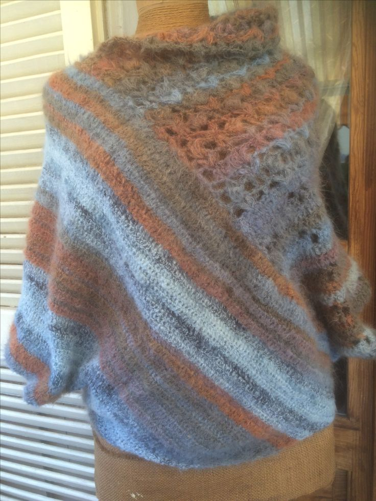 maglia poncho
