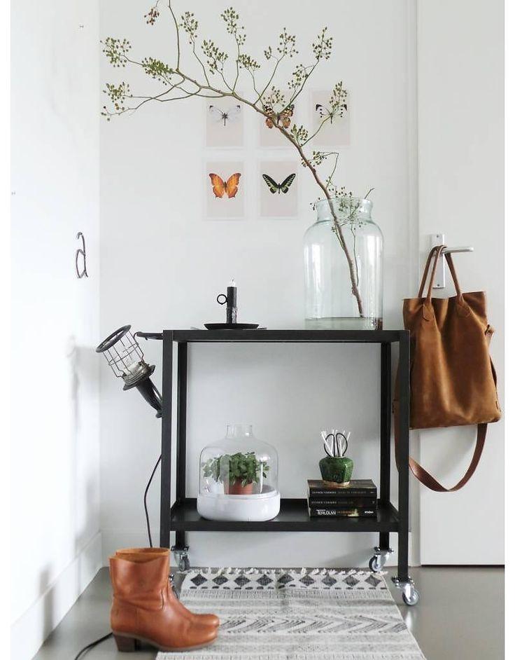 Love: een trolley kan op veel verschillende manieren worden gestyled, bijvoorbeeld zo [styling & fotografie door @lisannevandeklift]