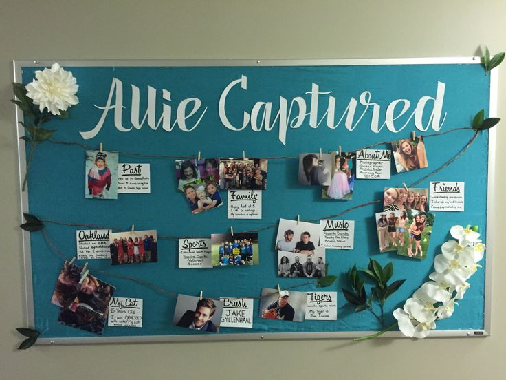 September RA About Me Bulletin Board with a photography theme to further display things about me.