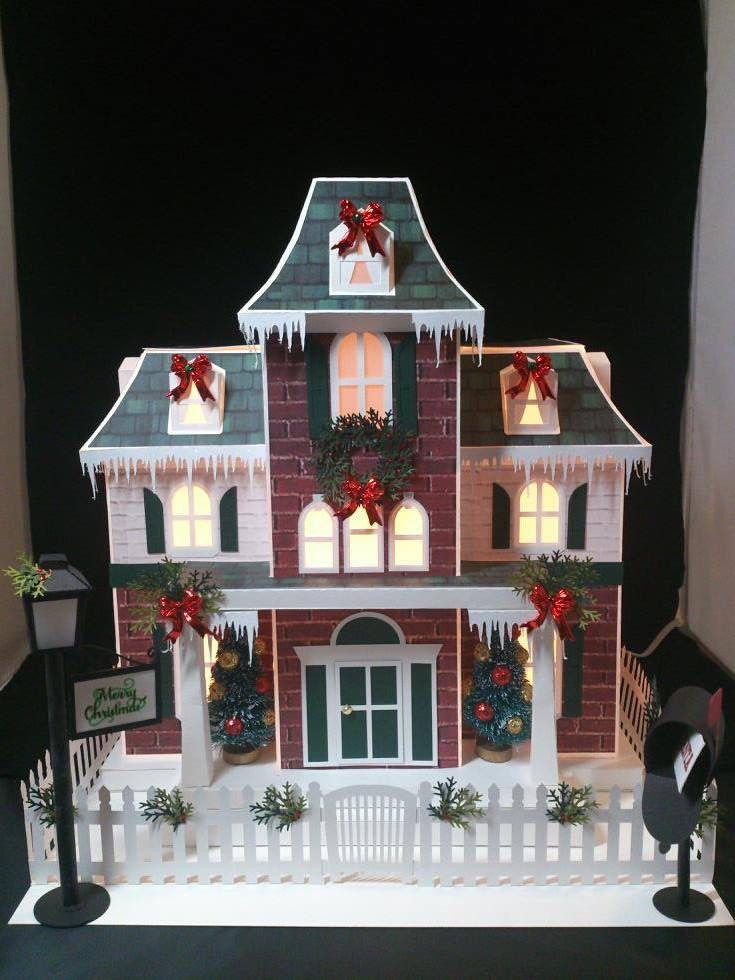 Decoraciones de navidad hechas con papel para nuestra casa for Decoraciones para casas
