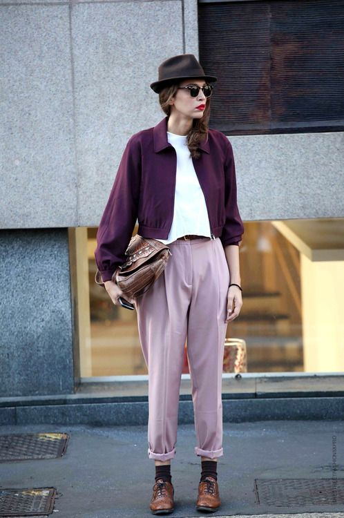 Pink and Plum | Outfit Inspiration | Fashion