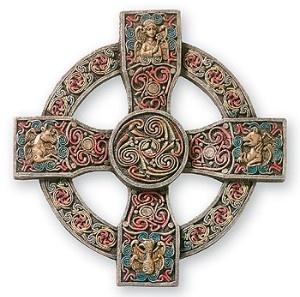 Book of Kells Cross, Trinity University, Dublin, Ireland