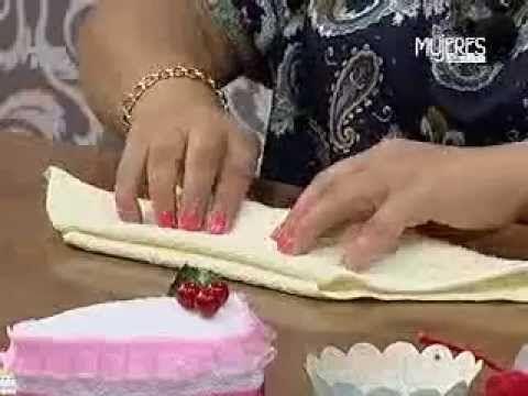 ▶ ¿Cómo hacer un Pastel de Toalla? (METVC) - YouTube