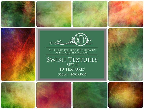 Fine Art Digital SWISH Textures  SET 4