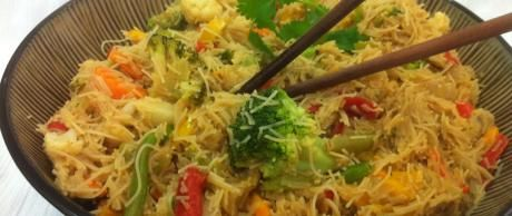 Saladmaster Healthy Solutions 316 Ti Cookware: Thai Rice Noodle Stir-Fry