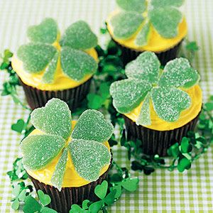 St. Patrick's Day treats.
