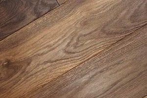 Massivholzdielen Eiche 20 x 180 x 2000 mm, geräuchtert, gebürstet, geölt