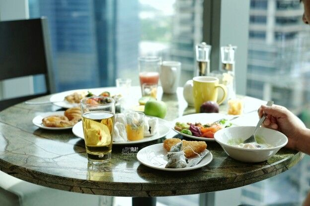 Wonderful breakfast supported with SuperFoodsRx™ dishes packed with nutrients and energy. bit.ly/westinstaycation