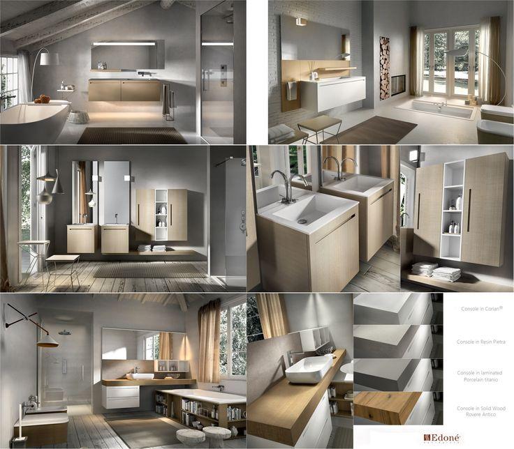 KER Collection - Natural wood bathroom finishing. By Edoné Design+ » Gruppo Agorà
