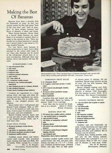 Recipes with banana