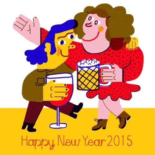 Happy New Year 2015 - by lauren humphrey
