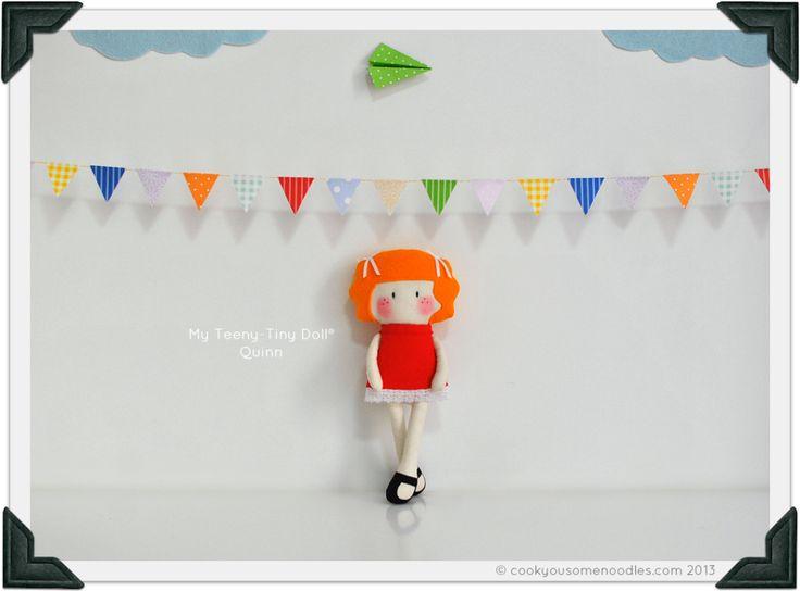 My Teeny-Tiny Doll® Quinn