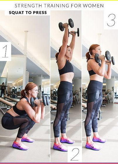 8 Strength Training Exercises for Women | YouBeauty