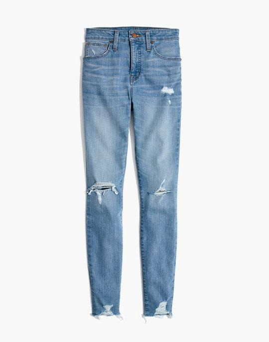 a7f5c999028 Curvy High-Rise Skinny Jeans in Ontario: Distressed-Hem Edition ...