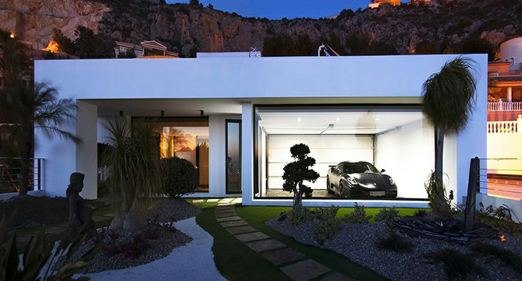Spectacular minimalist and modern Villa for Rent in Altea Hills (Alicante, Spain) More info: www.spainville.com