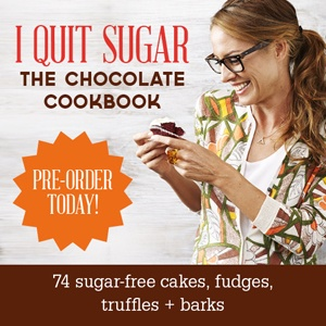 I Quit Sugar chocolate ebook- I'm so excited to try some recipes!