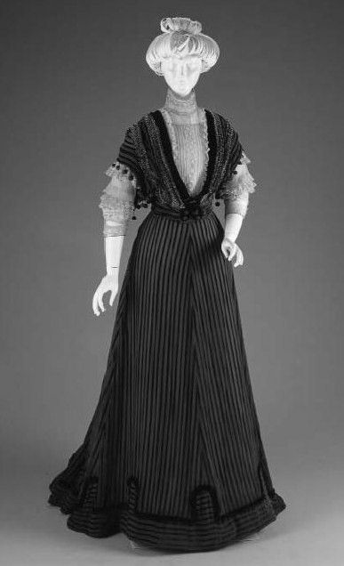 Edwardian Afternoon Dress 1907 - 1908