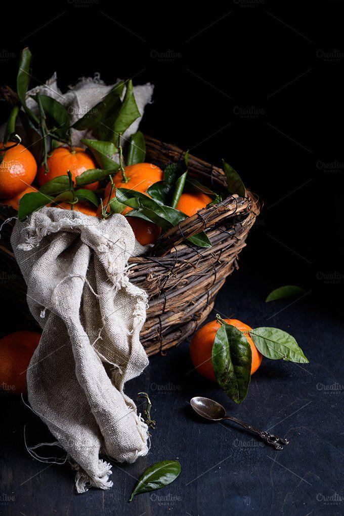 Oranges in a basket (с изображениями) | Фруктовый сад ...  Фруктовый Сад Обои
