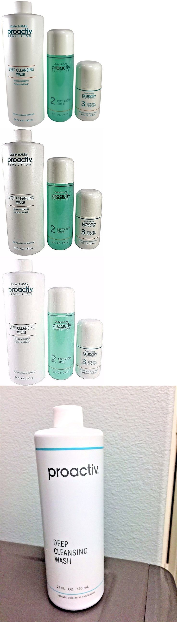 Acne and Blemish Treatments: Proactiv 120 Day 3Pc Kit Cleanser Wash Toner Lotion Proactive Step System 3-2018 -> BUY IT NOW ONLY: $68.95 on eBay!