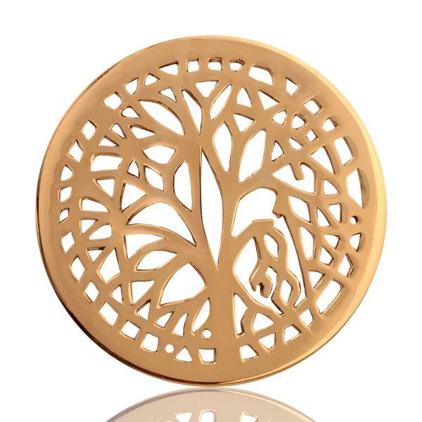 Nikki Lissoni coin Tree of Life