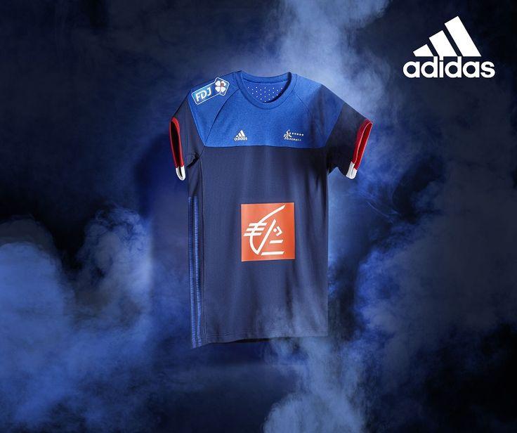 maillot équipe de handball EURO 2016 JO RIO 2016 adidas