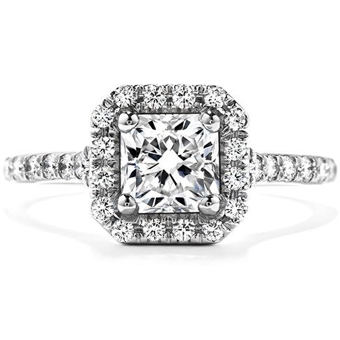 Hearts On Fire 'Transcend' Dream Engagement Ring