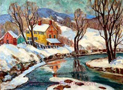 Fern I. Coppedge, Fiddler's Creek Fine Art Reproduction Oil Painting