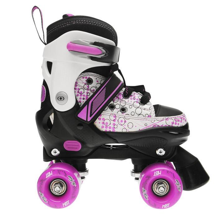 No Fear Mist Quad Skates Junior Girls Firskøyter, barn  Quad skates, Kids