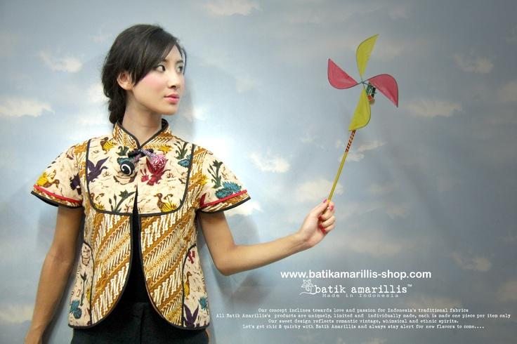 batik amarillis's sweet mischief jacket