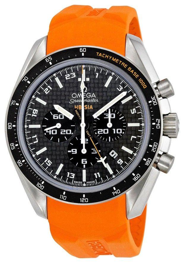 Omega men watches :Omega Men's 321.92.44.52.01.003 Speedmaster Black Carbon Fiber Dial Watch