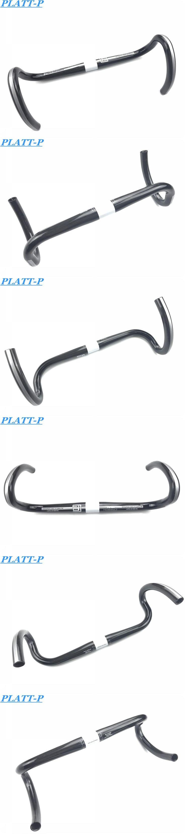 Date Lighter PLATT-P Road Bike UD Full Carbon Fiber Road Bike Parts 31.8 * 400/420 / 440mm Shiny Mat