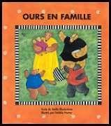 """31997000779215 Ours en famille. Présentation rimée et rythmée des sens à travers des scènes colorées de la vie familiale: """"Hume le pain... touche le bol... goûte l'excellent poisson, etc"""". [SDM]"""