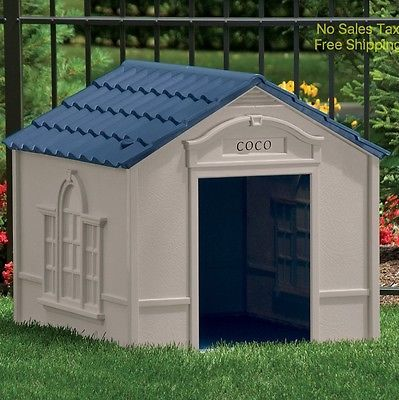XL Dog House Extra Large Dog Houses for Large Dogs Weather Resistant Pet Shelter