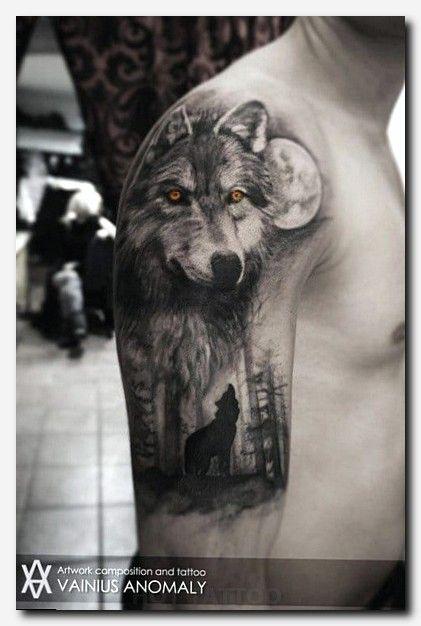 die besten 25 wolf tattoo bedeutung ideen auf pinterest game of thrones tattoo kr he tattoo. Black Bedroom Furniture Sets. Home Design Ideas