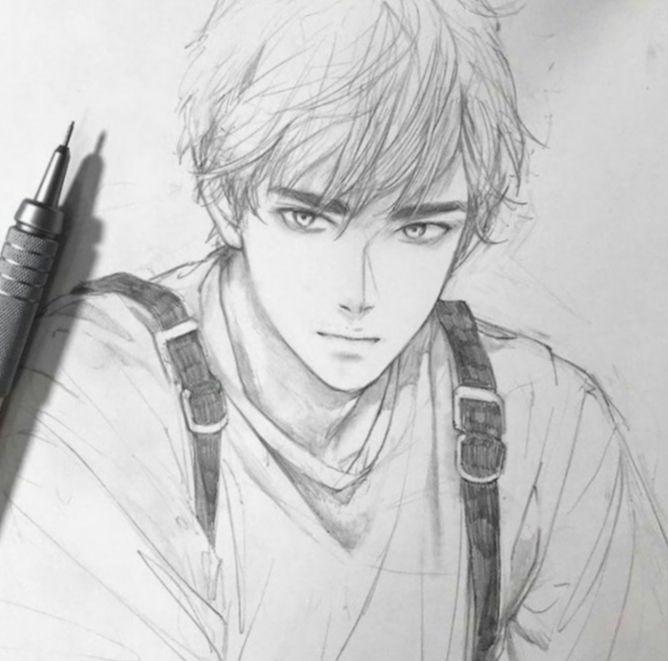 Anime Sketch Boy Pencil Mha Myheroacademia Myheroacademiacosplay Anime Drawings Anime Sketch Manga Drawing Tutorials