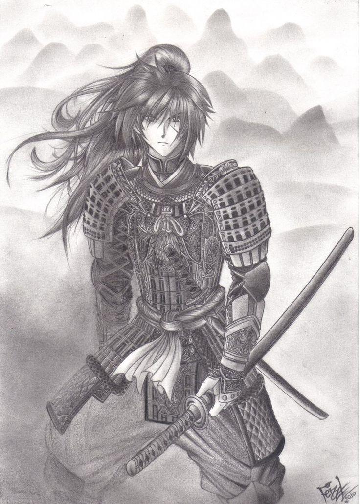 Fan Art Of Rurouni Kenshin C Nobuhiro Watsuki