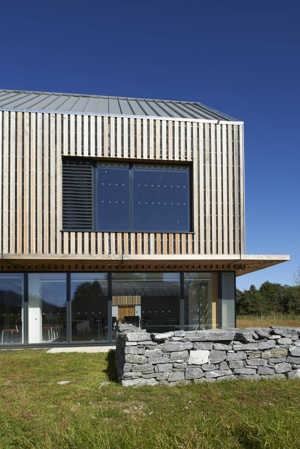 SILA A/B® open rainscreen cladding - Am Fasgadh, Highland Folk Museum   HRI Architects/Highland Counci