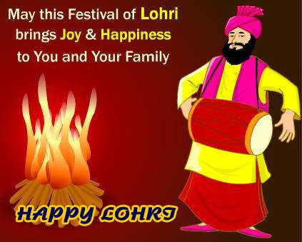 Happy Lohri Posters