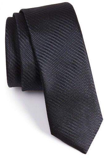 Men's Boss Subtly Striped Silk Tie