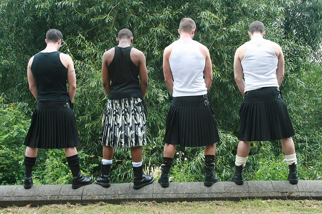 Kilts- make it a wee bit easier when oot drikin with the lads!