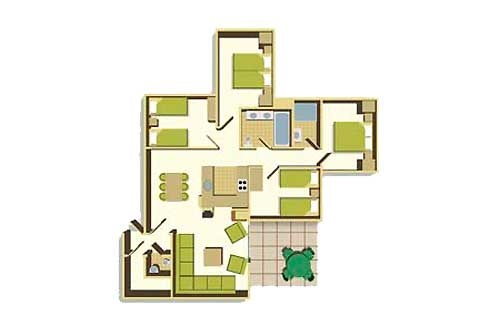 Four Bedroom Floorplan Example