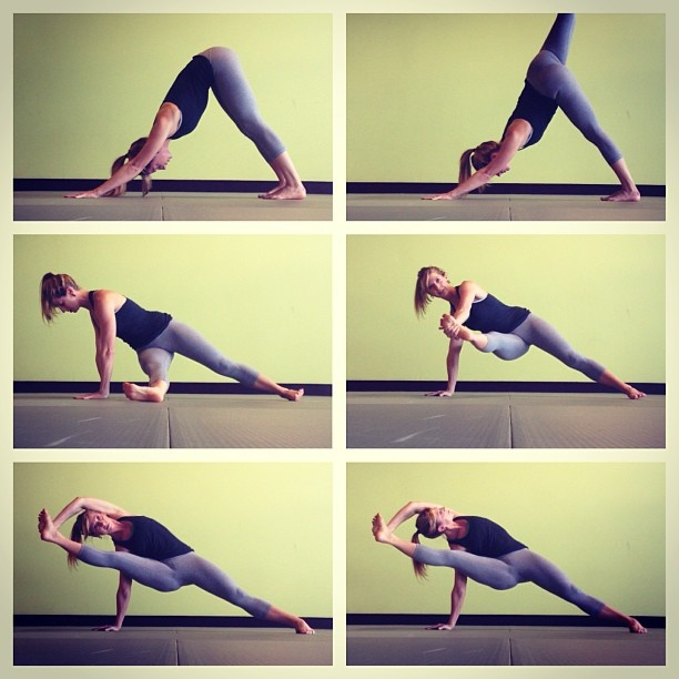 Vasisthasana variation | Yoga My Love | Pinterest