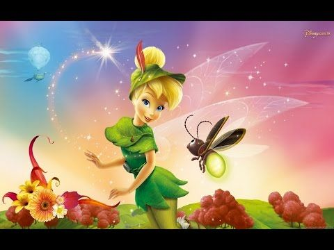 Best Animation movies 3D - Peter Pan 3D - Tinker Bell 3D - New