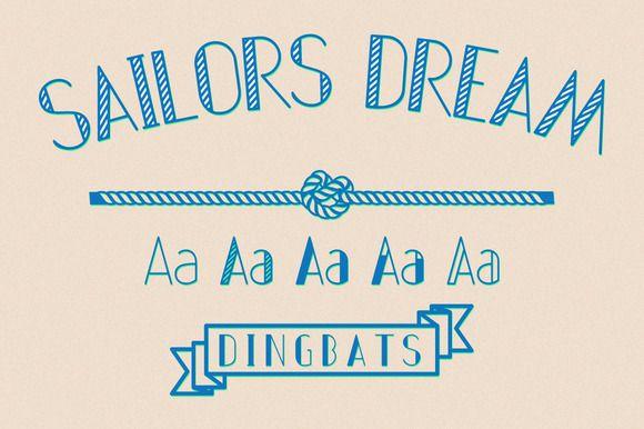 Sailors Dream by CABAJ on @creativemarket