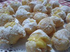 Dulces Sueños: Buñuelos de Viento Rellenos de Crema