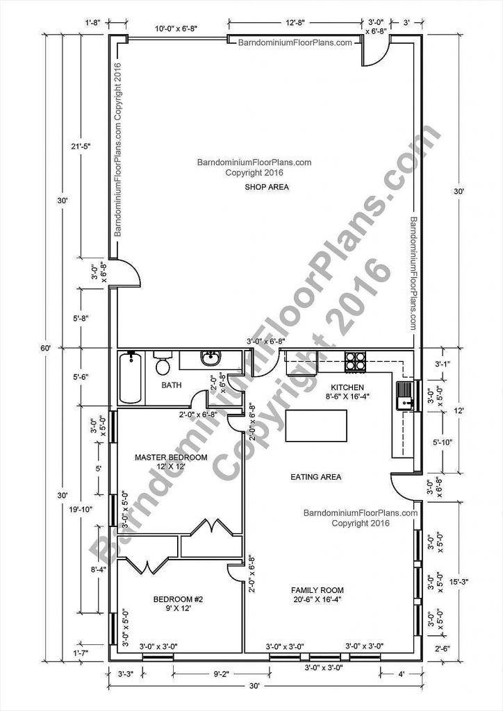 The 5 Best Barndominium Shop Plans with Living Qua…